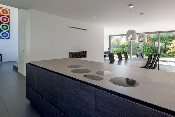 Haus C:  Küche von K6architekten