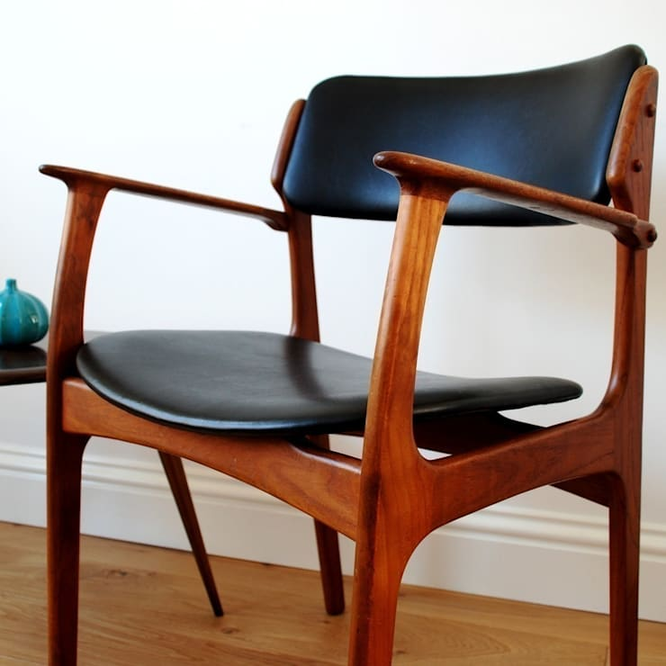 Erik Buck chair model 50 arm chair:  Study/office by Zanders And Sons