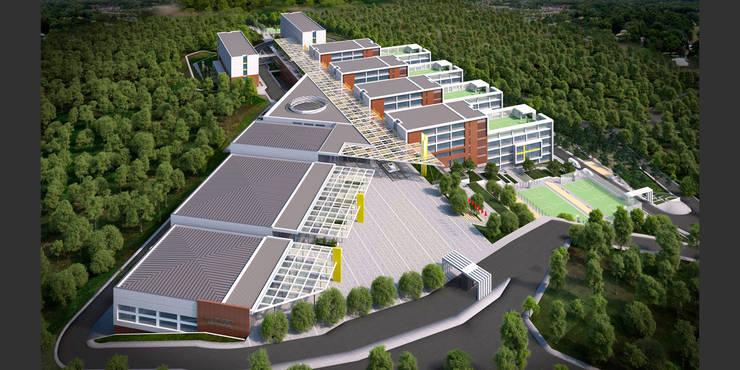 HATIRLI Mimarlık Ltd. Şti. – MEB Hatay Kırıkhan Eğitim Kampüsü:  tarz Okullar