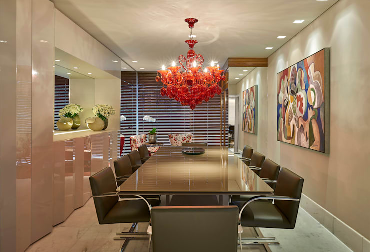 modern Dining room by Gislene Lopes Arquitetura e Design de Interiores