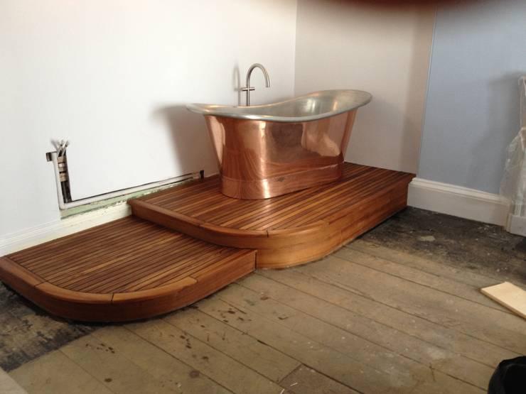 Bath sited:   by Pembroke Bathrooms