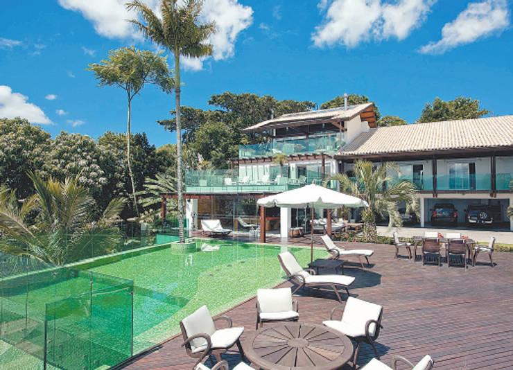 Casa Cacupé I: Casas modernas por Mantovani e Rita Arquitetura