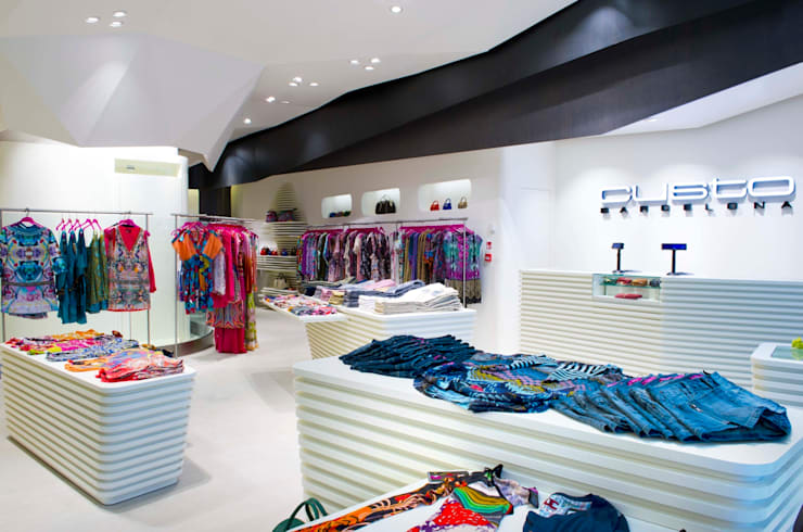 Custo Barcelona opens UK store in Westfield Stratford City:  Offices & stores by Dear Design