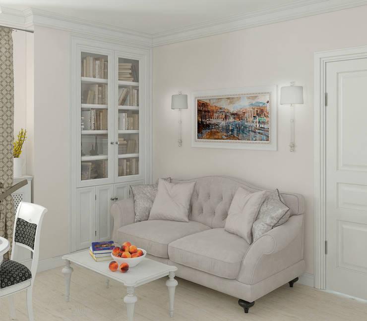 Интерьер кухни-столовой: Столовые комнаты в . Автор – Yurov Interiors