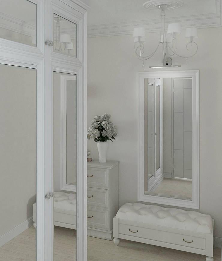 Интерьер холла: Коридор и прихожая в . Автор – Yurov Interiors