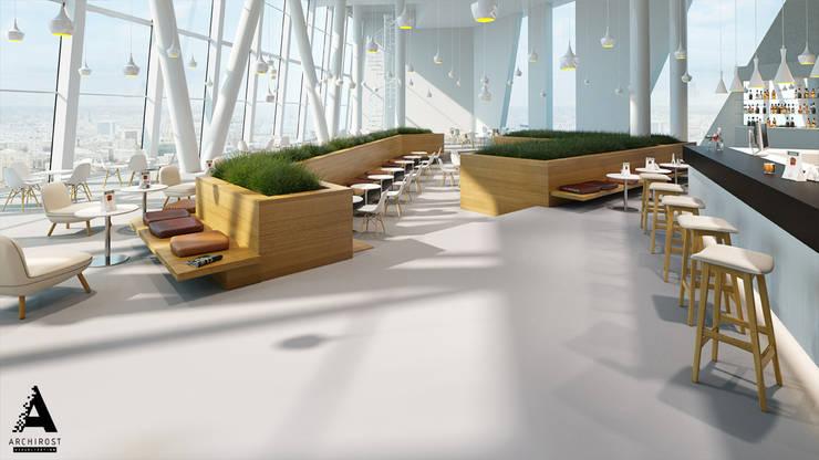 Визуализация коммерческой недвижимости: Столовые комнаты в . Автор – Аrchirost