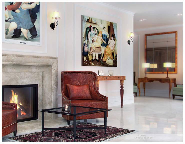 Квартира в Баку <q>Roseville</q>: Столовые комнаты в . Автор – ILKIN GURBANOV Studio