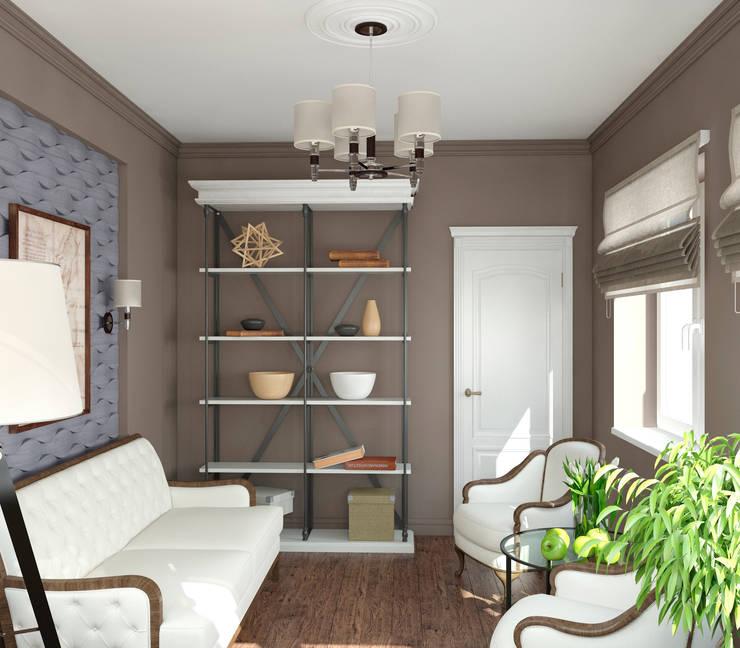 Интерьер комнаты отдыха: Зимние сады в . Автор – Yurov Interiors