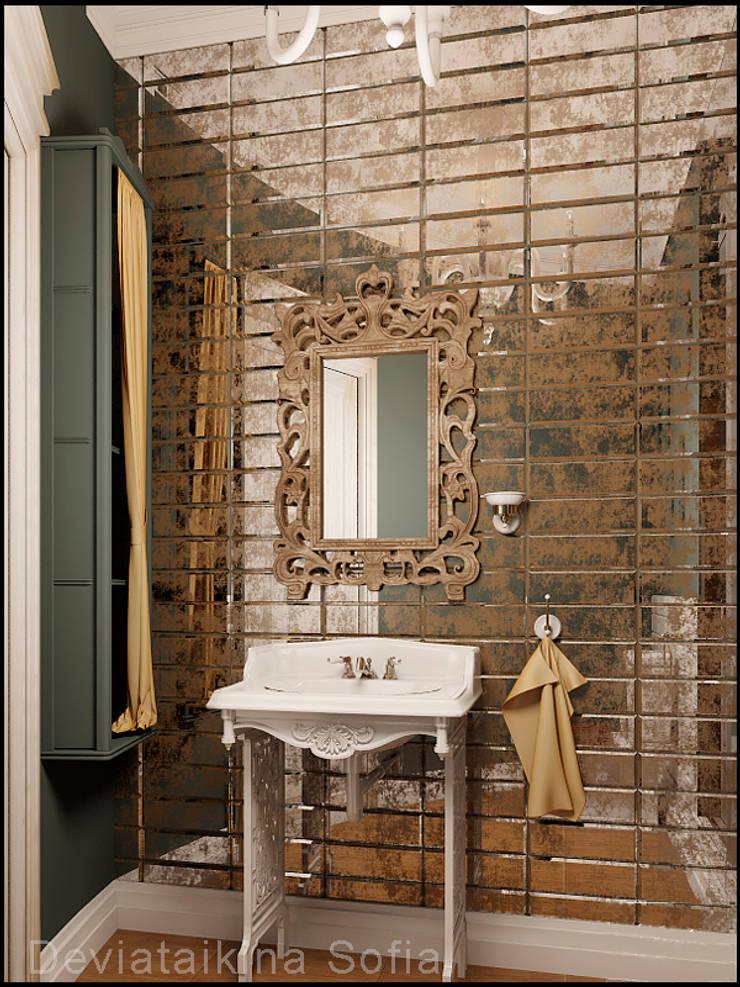 Проекты ванной: Ванные комнаты в . Автор – Частный дизайнер и декоратор Девятайкина Софья