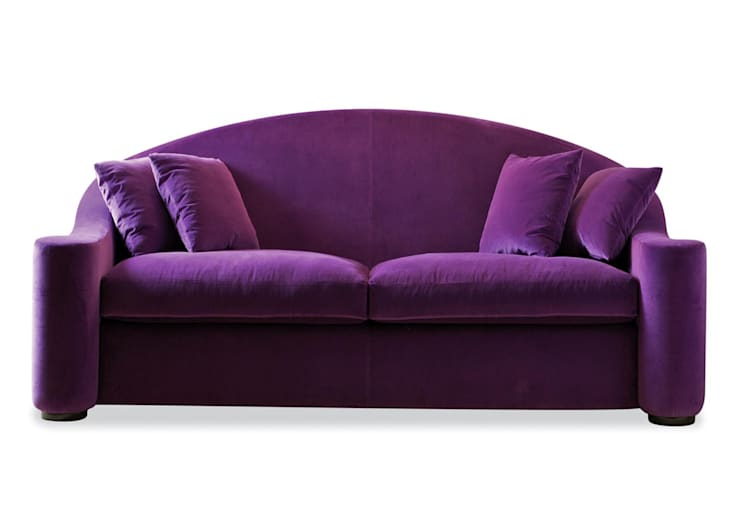 Dom edizioni winnie sofa:  Living room by We Style Homes