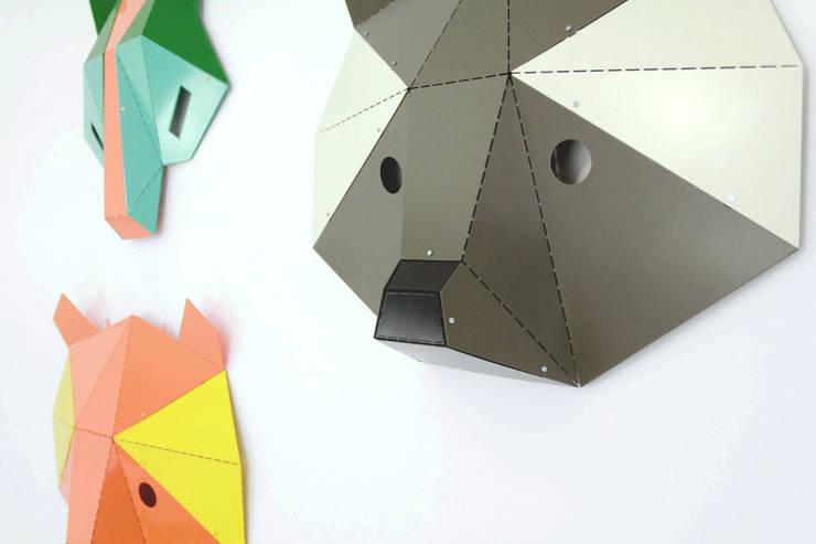 Maski Mid-Summer Night: styl , w kategorii Salon zaprojektowany przez Kosmos Project