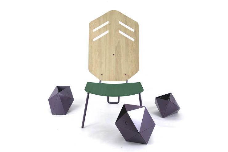 Sedzisko Transition: styl , w kategorii Salon zaprojektowany przez Kosmos Project