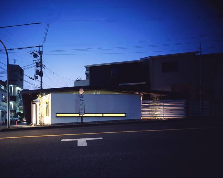 Y's Gate 外観: 神谷徹建築設計事務所が手掛けた家です。