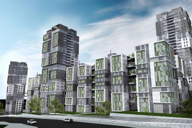 HATIRLI Mimarlık Ltd. Şti. – Prime Life: modern tarz Evler