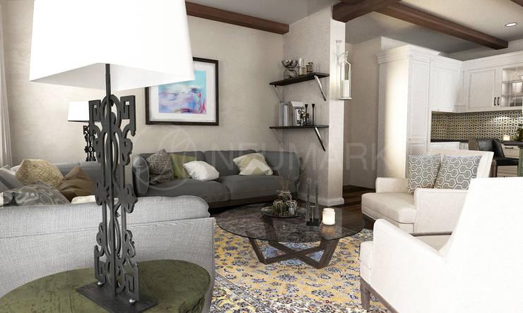House in Trogir, Croatia: Гостиная в . Автор – NEUMARK
