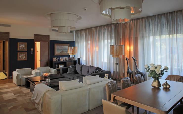 Квартира на Новом Арбаре:  в . Автор – Дизайн-бюро ARCHPOINT