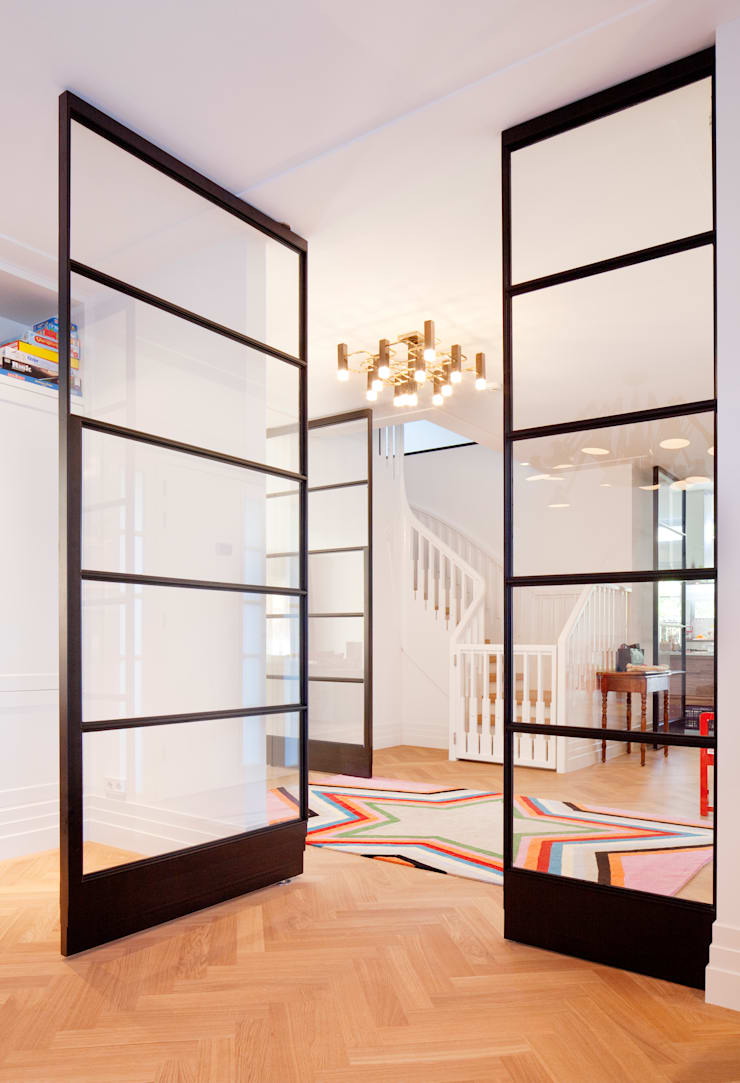 Salas / recibidores de estilo  por FritsJurgens BV, Industrial