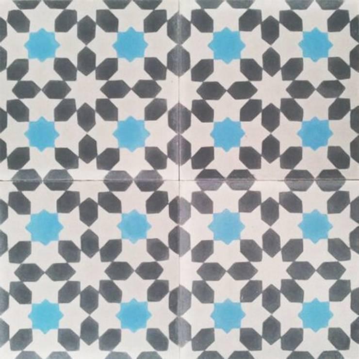 Moorish – Mudéjar:  de estilo  de Suelos Hidráulicos Demosaica