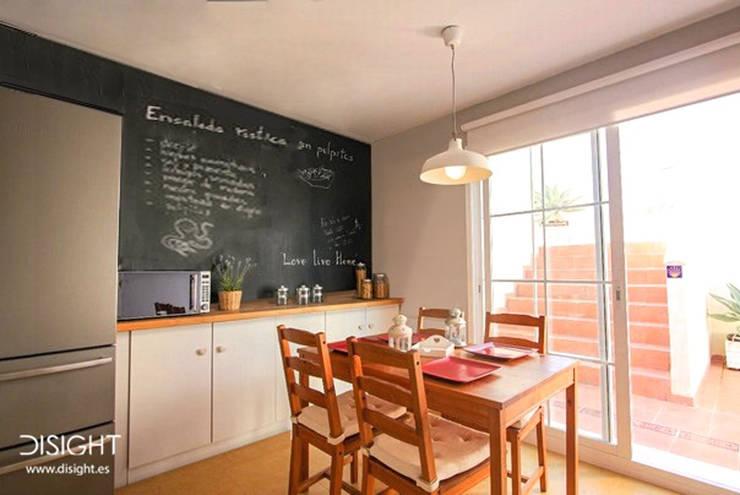 office cocina : Cocinas de estilo mediterráneo de DISIGHT