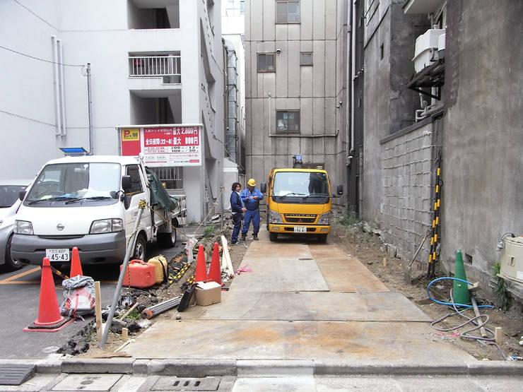 着工前: 前見建築計画一級建築士事務所(Fuminori MAEMI architect office)が手掛けたです。