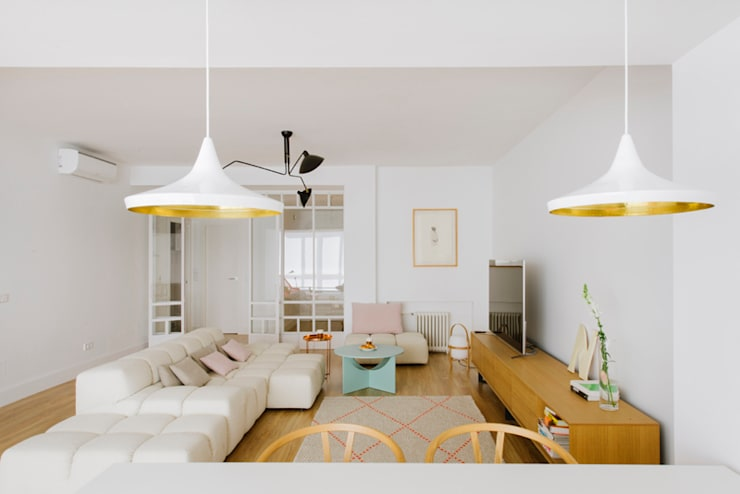 Vivienda zona Quevedo, Madrid: Salones de estilo  de nimú equipo de diseño