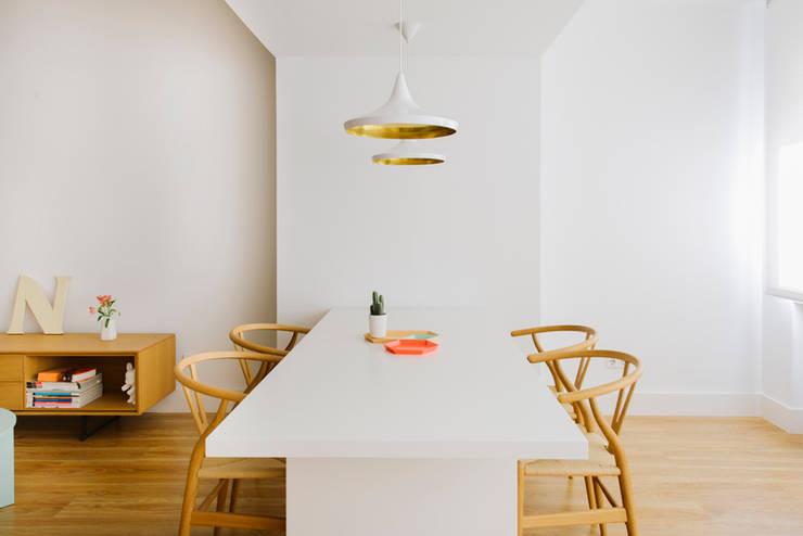Vivienda zona Quevedo, Madrid: Comedores de estilo  de nimú equipo de diseño