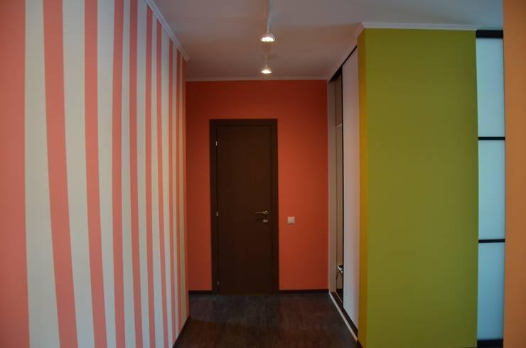 Apartments in Kommunarka: Коридор и прихожая в . Автор – baboshin.com