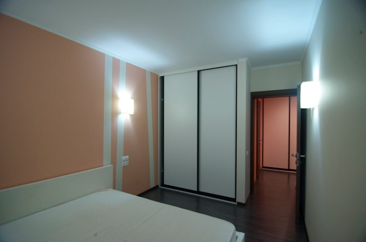 Apartments in Kommunarka: Спальни в . Автор – baboshin.com