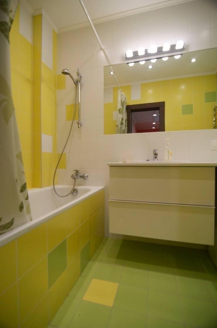 Apartments in Kommunarka: Ванные комнаты в . Автор – baboshin.com