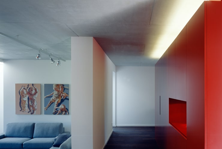 Löffler Weber | Architekten의  거실