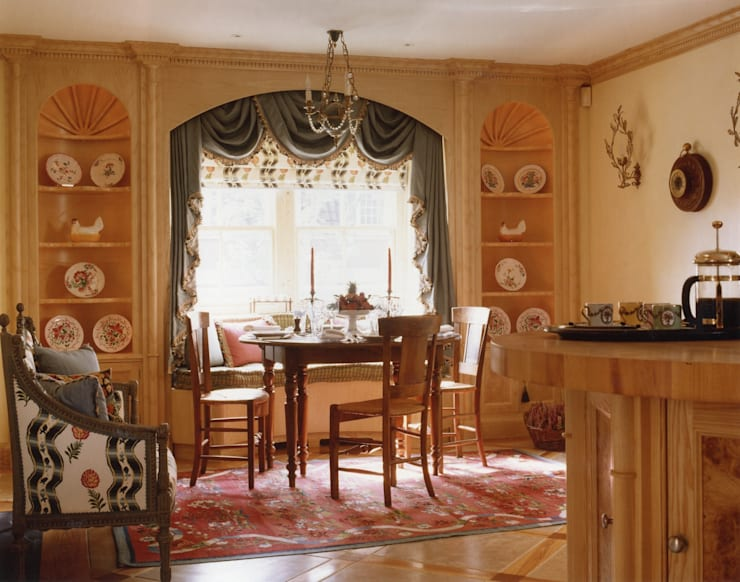 Mayfair Apartment - Dining Area :  Dining room by Meltons