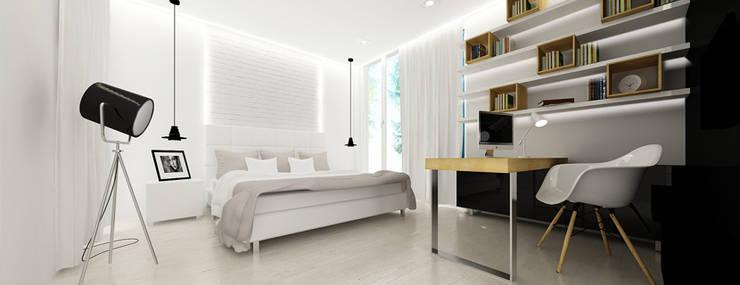 pokój córki: styl , w kategorii Pokój dziecięcy zaprojektowany przez Ajot pracownia projektowa