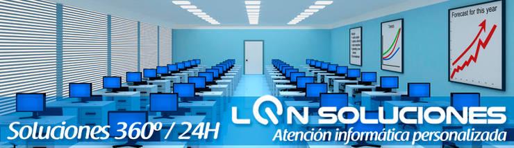 LQN Soluciones Mantenimiento Informático: Espacios comerciales de estilo  de LQN Soluciones Mantenimiento Informático