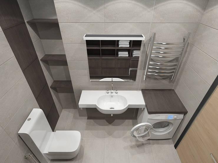 4-х комнатная квартира: Ванные комнаты в . Автор – EEDS