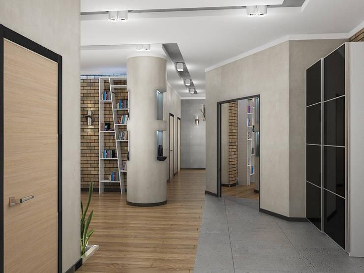 4-х комнатная квартира: Коридор и прихожая в . Автор – EEDS design