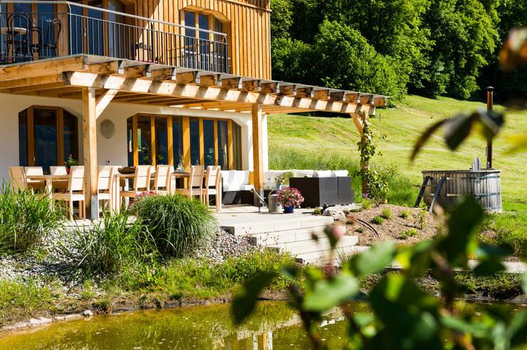 Terrasse:  Terrasse von Visions Haus