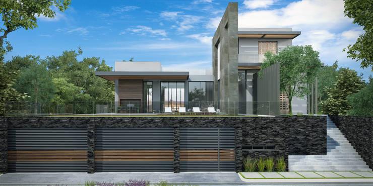 SAN PATRICIO: Casas de estilo  por GGF Capital Arquitectonica
