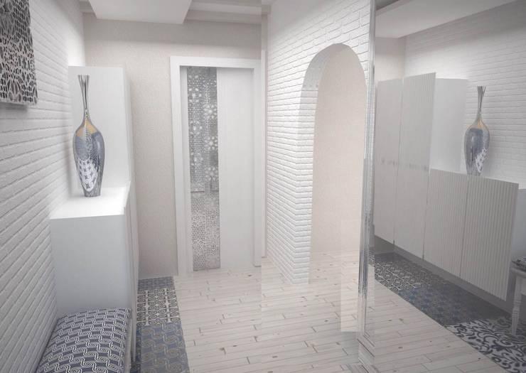 Квартира на ул.Мира: Коридор и прихожая в . Автор – DS Fresco