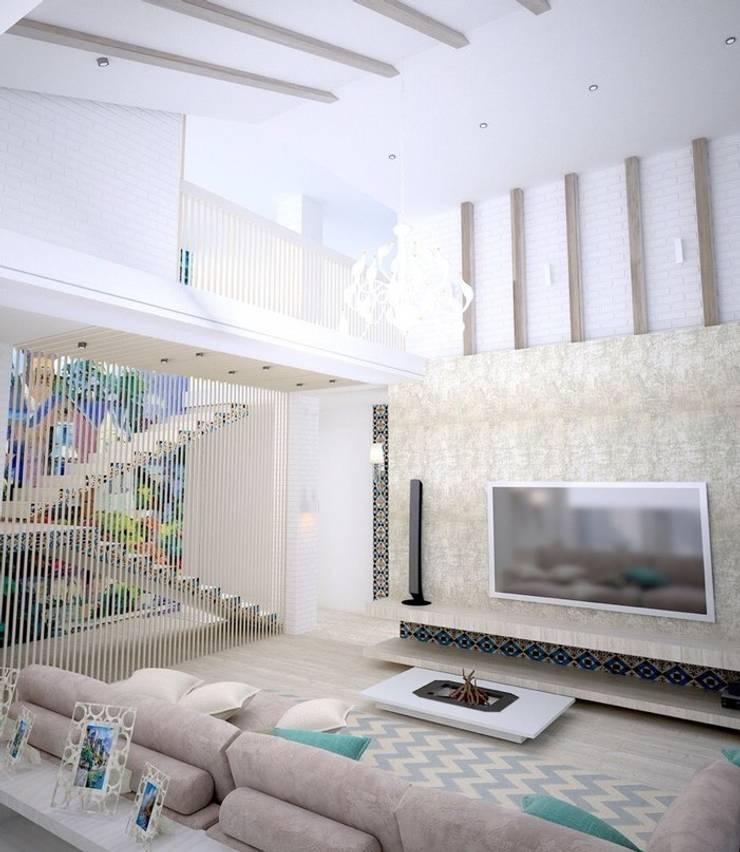 Living room by DS Fresco