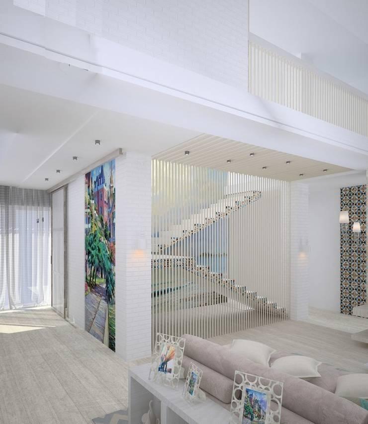 Salon de style  par DS Fresco