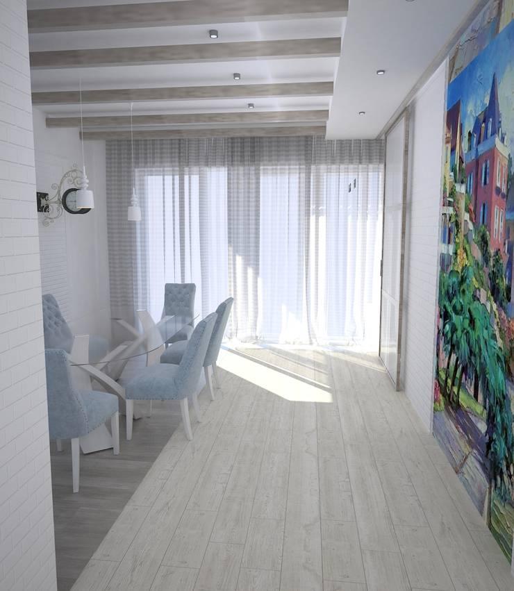 Средиземноморье в г.Анапа: Столовые комнаты в . Автор – DS Fresco