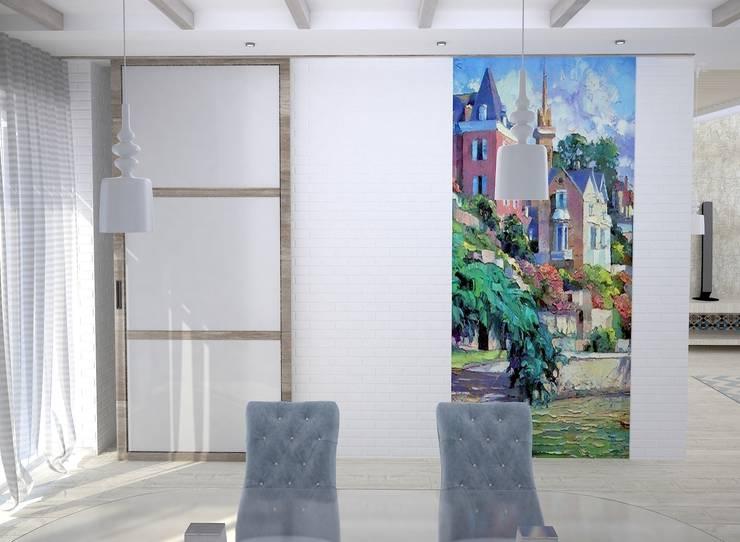 Salle à manger de style  par DS Fresco