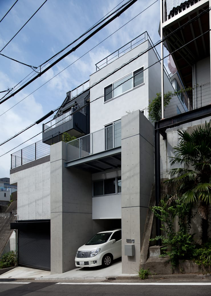 Studio R1 Architects Office의  주택