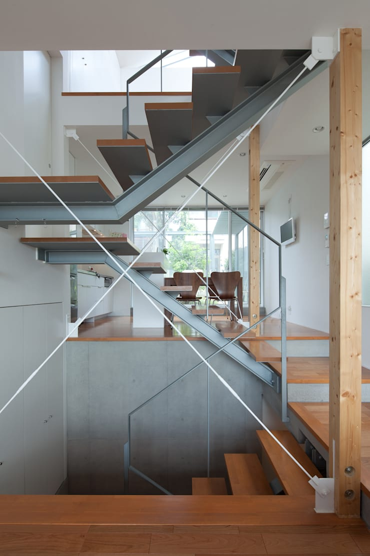 Studio R1 Architects Office의  복도 & 현관