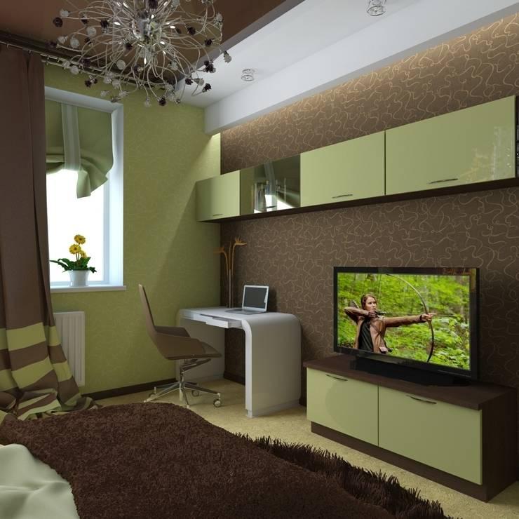 квартира в современном стиле: Детские комнаты в . Автор – архитектор-дизайнер Алтоцкий Михаил (Altotskiy Mikhail)