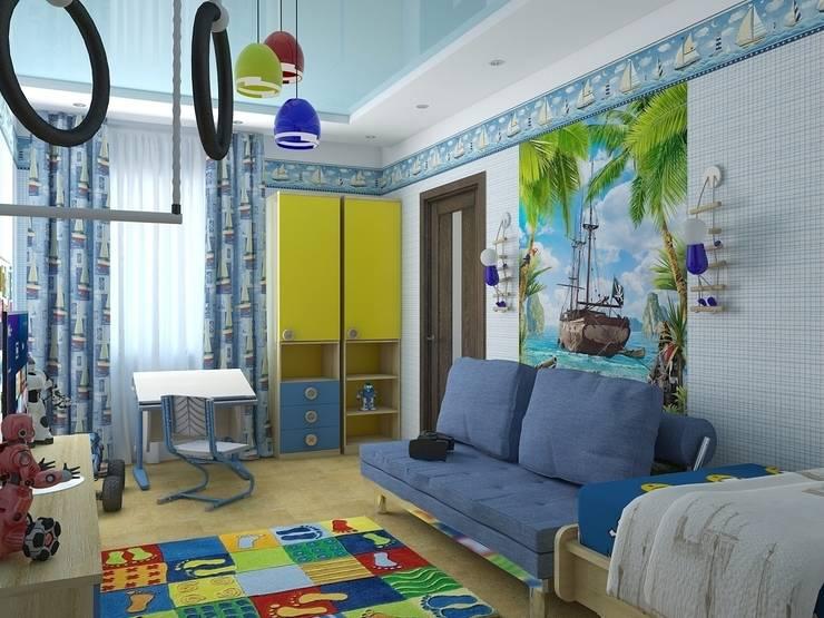 детские: Детские комнаты в . Автор – архитектор-дизайнер Алтоцкий Михаил (Altotskiy Mikhail)