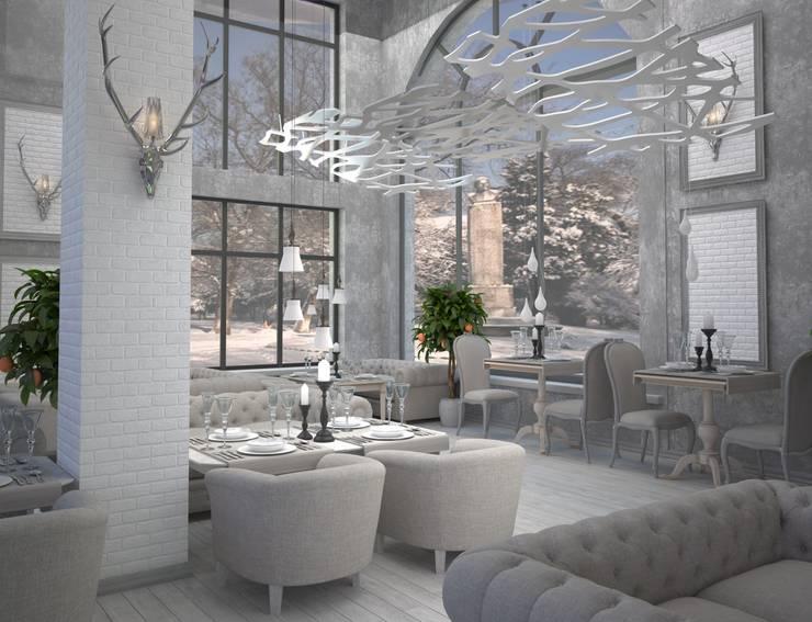 Ресторан в Краснодаре: Гостиницы в . Автор – DS Fresco