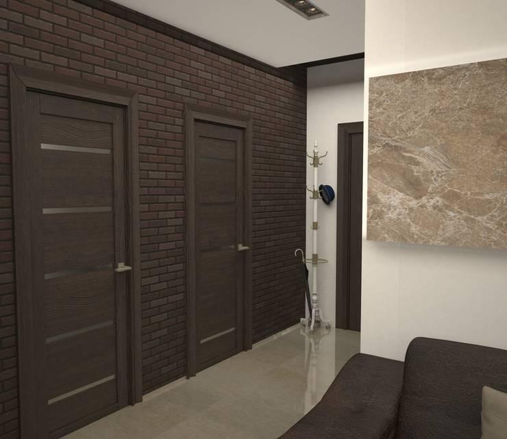 Квартира холостяка: Коридор и прихожая в . Автор – DS Fresco