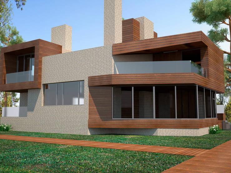 Проекты домов: Дома в . Автор – DS Fresco