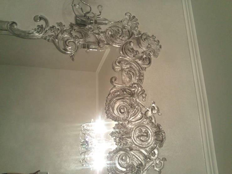 зеркала барельефом: Коридор и прихожая в . Автор – Абрикос